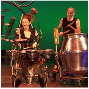 ARTS San Antonio presents Scrap Arts Music, Found Percussion of Tomorrow from Vancouver, Canada.