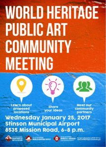 World Heritage Public Art Community Meeting
