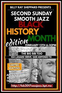 BillyRay Sheppard's Second Sunday Smooth Jazz: Black History Edition