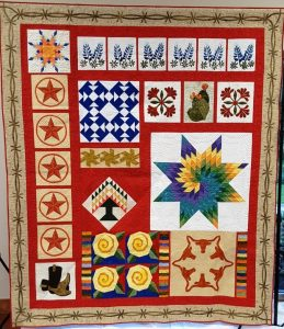 A Salute to Texas Quilt Show by Greater San Antonio Quilt Guild