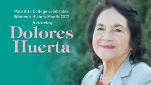 Dolores Huerta at Palo Alto College