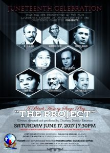 Black History Theatrical Stage Play -The Project