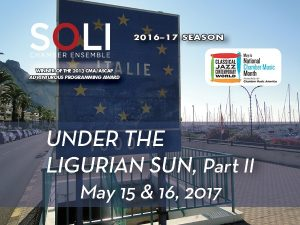 Under the Ligurian Sun, Part II
