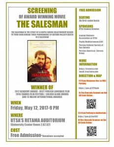 Film Screening: The Salesman