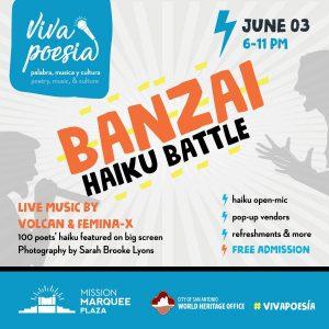 Viva Poesia - Banzai Haiku Battle