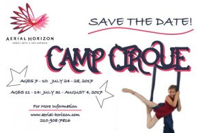 Camp Cirque at Aerial Horizon for Youth 7-10