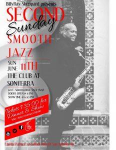 BillyRay Sheppard's Second Sunday Smooth Jazz: Sonterra II Edition