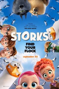 Free Outdoor Movie: Storks