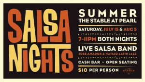 Salsa Nights at Pearl Stable