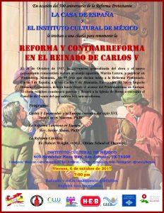 Reforma y Contrarreforma en el reinado de Carlos V (in Spanish)