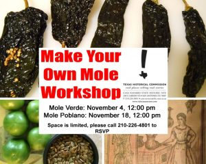 Make Your Own Mole Workshop: Mole Poblano