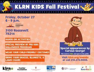 KLRN KIDS Fall Festival