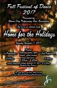 Fall Festival of Dance: Home for the Holidays