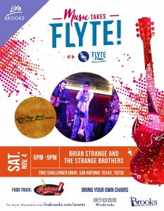 Music Takes Flyte ft Brian Strange and The Strange Brothers