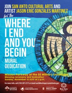 Mural Dedication for 'Where I End and You Begin'