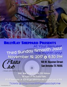 BillyRay Sheppard's Third Sunday Smooth Jazz: CD Release Edition
