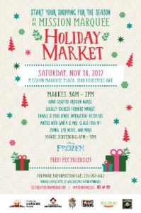 Second Annual Mission Marquee Holiday Market
