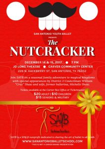 San Antonio Youth Ballet Presents The Nutcracker