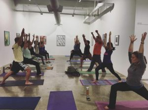 Yoga in the Gallery with Mobile Om