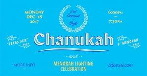 Chanukah Celebration and Menorah Lighting with YJSA