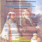 San Antonio 1718:  Arte del México Virreinal (in Spanish)
