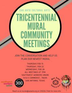 Community Meeting: Tricentennial Mural