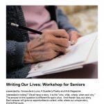 Writing Our Lives: Senior Workshop