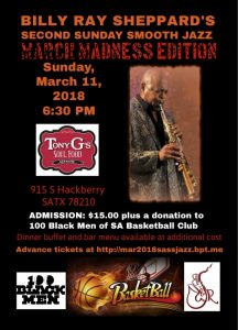 BillyRay Sheppard's Second Sunday Smooth Jazz: March Madness Edition
