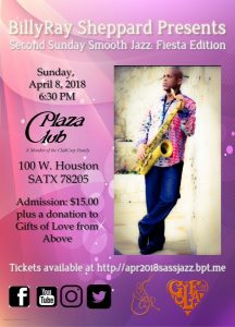 BillyRay Sheppard's Second Sunday Smooth Jazz: Fiesta Edition