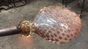 A Tricentennial Themed Glass Blowing Demo & More