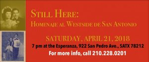 Still Here: Homenaje al Westside de San Antonio | Pre-Release