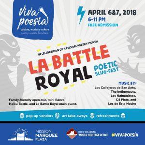 Viva Poesía: palabra, musica y cultura 'La Battle Royal'