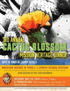 3rd Annual  Cactus Blossom Dinner