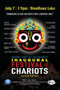 Festival of Chariots (Ratha Yatra) San Antonio