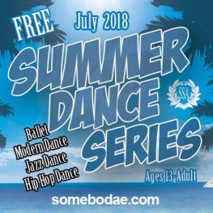 SSA- S.A. Campus Summer Dance Series