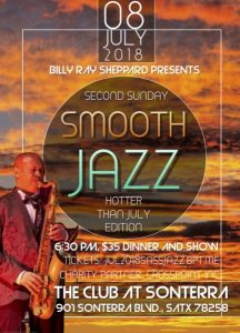 BillyRay Sheppard's Second Sunday Smooth Jazz: Hotter than July Edition
