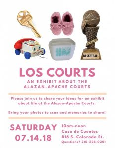 Second Saturday Convivio | Los Courts