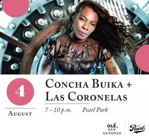 Concha Buika and Las Coronelas at Pearl