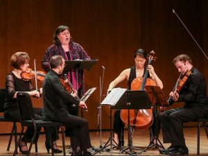 Brentano String Quartet with Dawn Upshaw