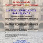 University of Salamanca and its 800 year Legacy (Lecture in Spanish)