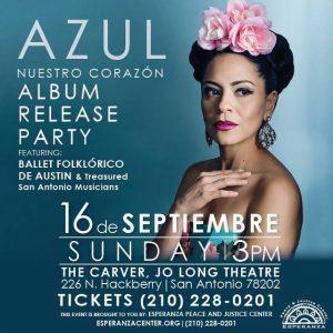Azul Barrientos' Album Release Concert of Nuestro Corazón