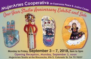 One-Year MujerArtes Studio Anniversary Exhibit