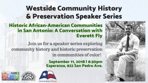 Historic African-American Communities in San Antonio: A Conversation with Everett Fly