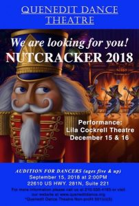QDT Nutcracker 2018 Audition