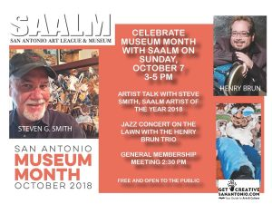Museum Month Artist Talk and Jazz Concert