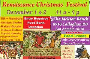Renaissance Christmas Festival - In the Heart of San Antonio