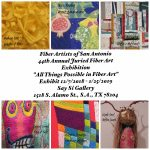 All Things Possible In Fiber Art