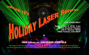 2018 Holiday Laser Show