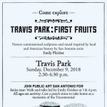 Travis Park: First Fruits - Artist Walk
