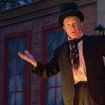 Scrooge on the Riverwalk!